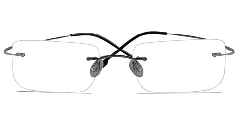 ddf3d246df Rimless Glasses